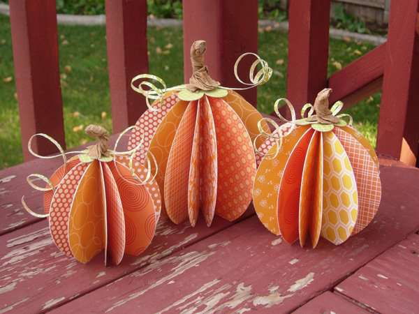 Pumpkin Centerpieces by Aly Dosdall