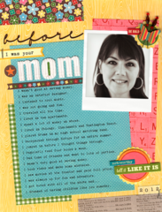 Before I was Your Mom by Laina Lamb featuring Southern Chicken Dumpling Soup from Jillibean Soup