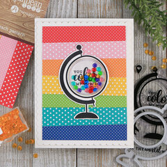 Color My World Shaker Card *Jillibean Soup*