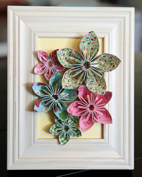 Flower Altered Frame by Linda Barber featuring Coconut Lime Soup from Jillibean Soup