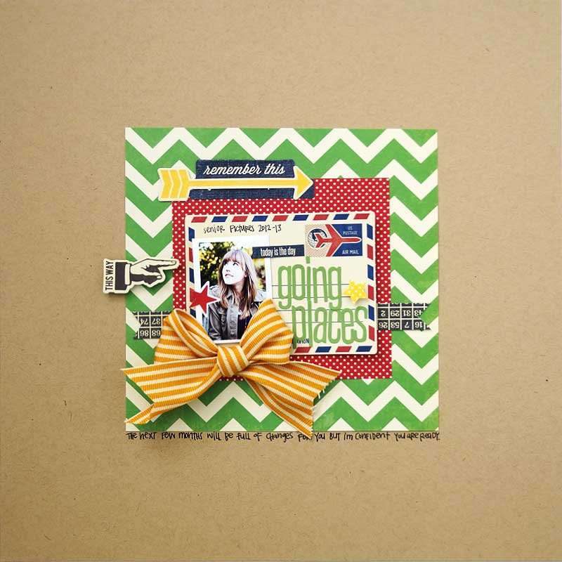 Going Places Layout by Emily Pitts