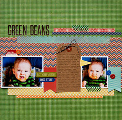 Green Beans Layout by Pam Brown
