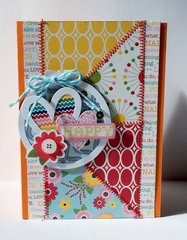 Happy card by Patty Folchert