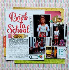 Back-to-School Layout *Jillibean Soup*