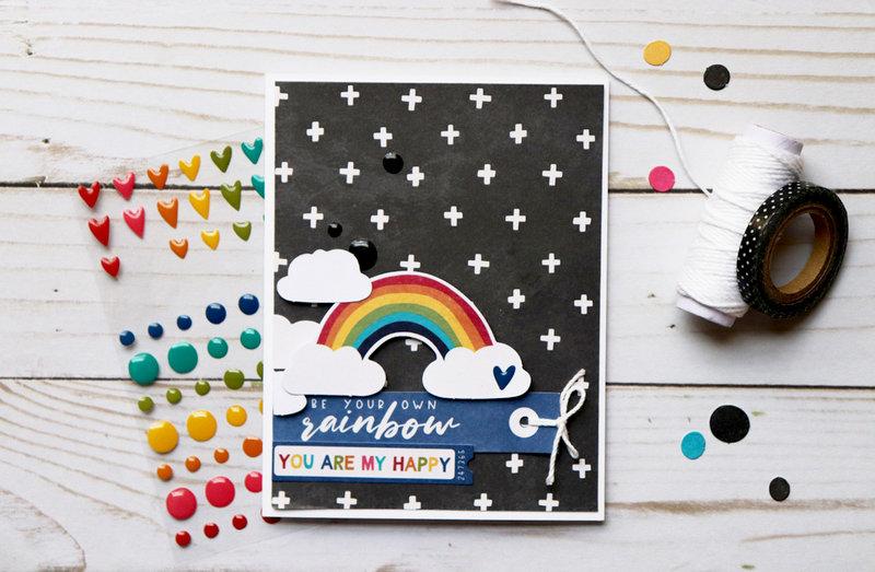 Rainbow Card *Jillibean Soup*