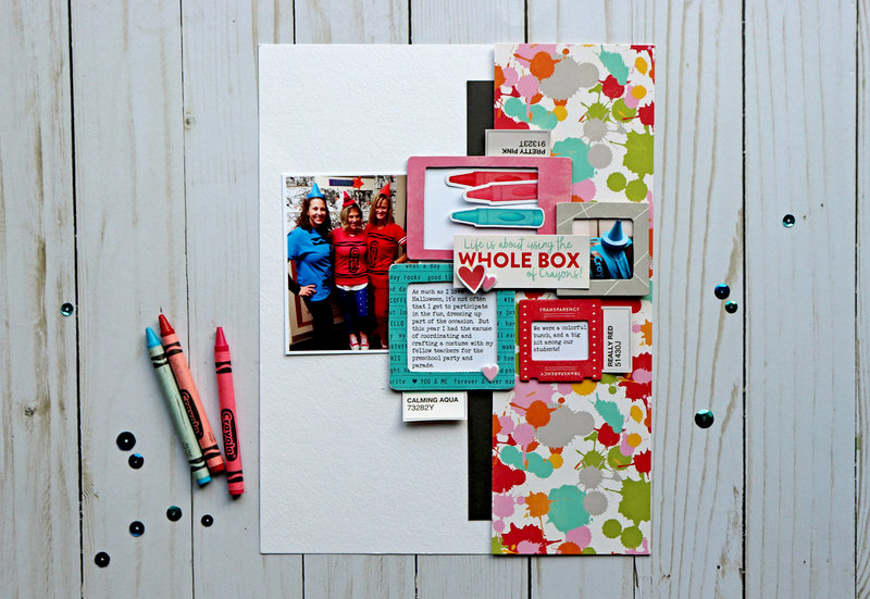 """Whole Box of Crayons"" Layout *Jillibean Soup*"