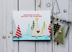Christmas With All the Trimmings Card *Jillibean Soup*