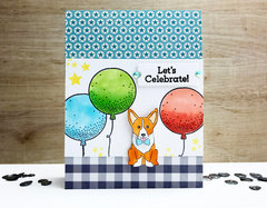 Stamped Happy Birthday Card *Jillibean Soup*