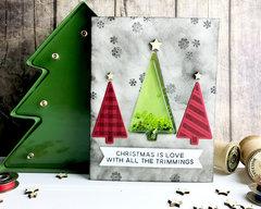 Christmas Tree Card *Jillibean Soup*