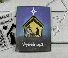 Joy to the World Shaker Card *Jillibean Soup*