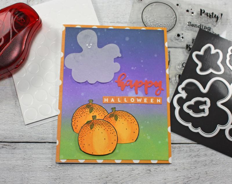 """Happy Halloween"" card *Jillibean Soup*"