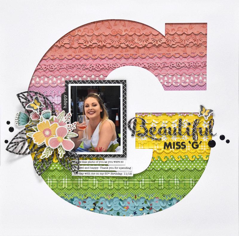 Beautiful Miss G Layout *Jillibean Soup*