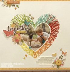 Get Messy Together Layout