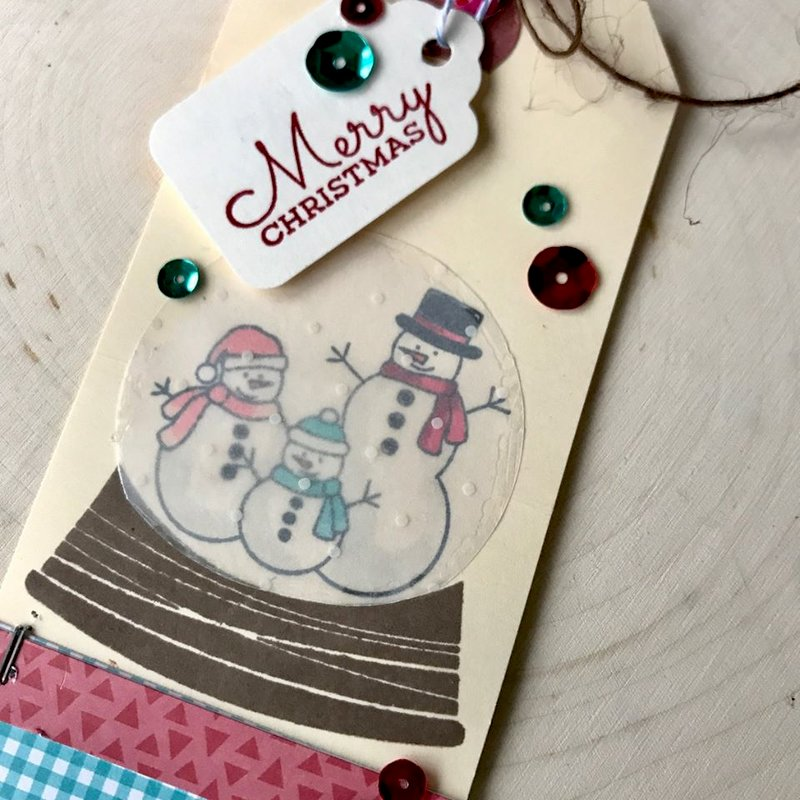 Merry Christmas tag by Kimber McGray