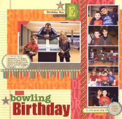 Bowling Birthday by Laina Lamb