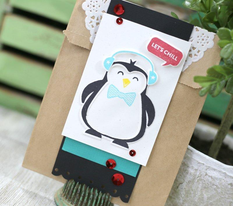 Let's Chill Penguin Gift Bag *Jillibean Soup*