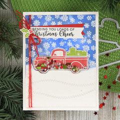 Christmas Cheer Shaker Card *Jillibean Soup*