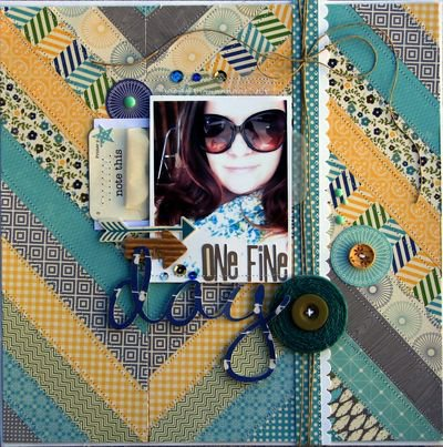 One Fine Day Layout by Niicole Nowosad