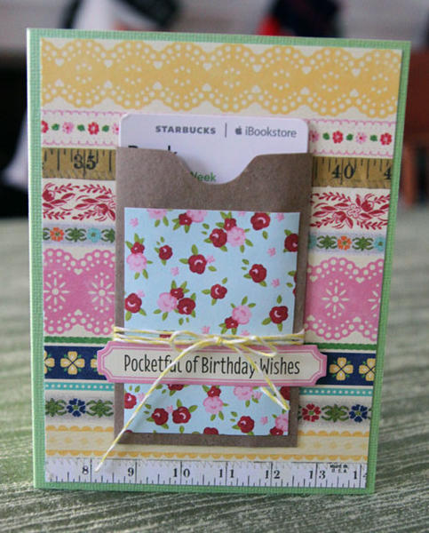 Pocketful of Birthday Wishes by Paula Gilarde