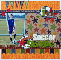 Soccer Goalie by Aphra Bolyer featuring Game Day Chili from Jillibean Soup