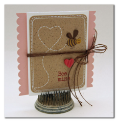 Bee Mine by Summer Fullerton using Hearty Barley Collection from Jillibean Soup