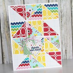 Thanks So Much card by Gail Lindner