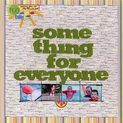 Something for Everyone by Paula Gilarde