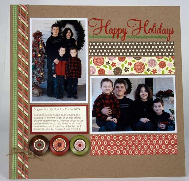 Happy Holidays by Laina Lamb