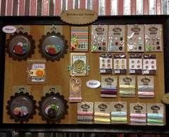 NEW Jillibean Soup CHA - Jumbo Button Embellishments