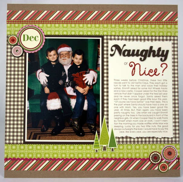 Naughty or Nice by Laina Lamb
