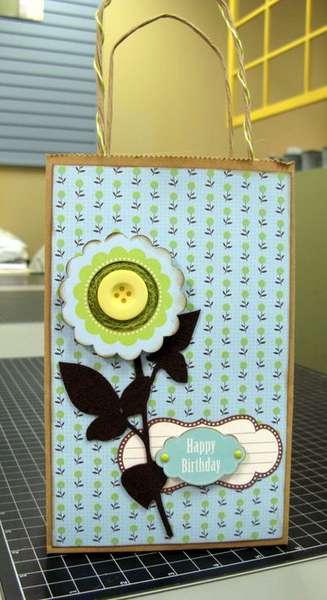 Happy Birthday Gift Bag by Shelby Koehler