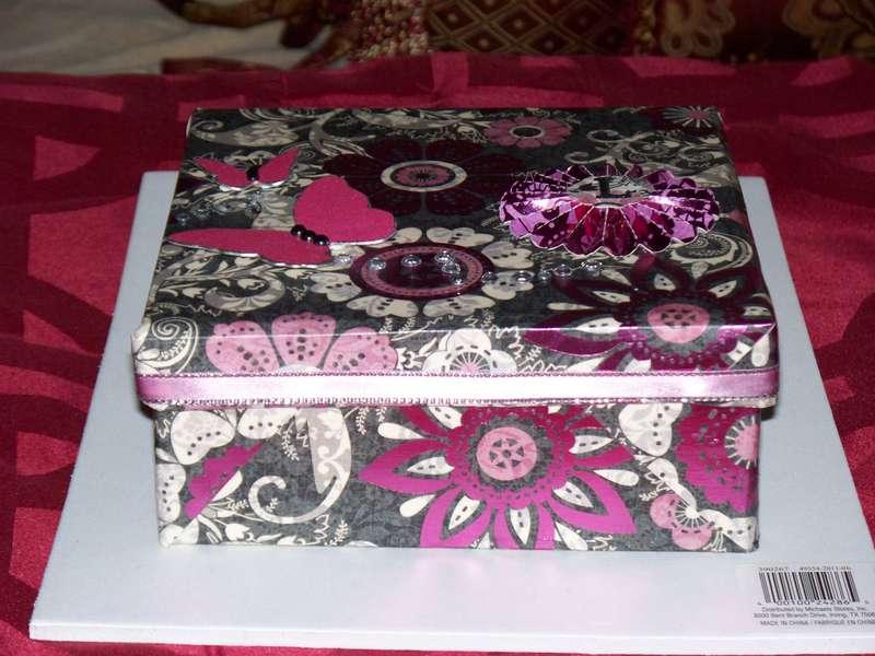 A BOX I ALTERED