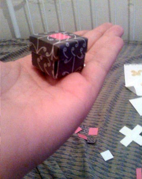Mini exploding box