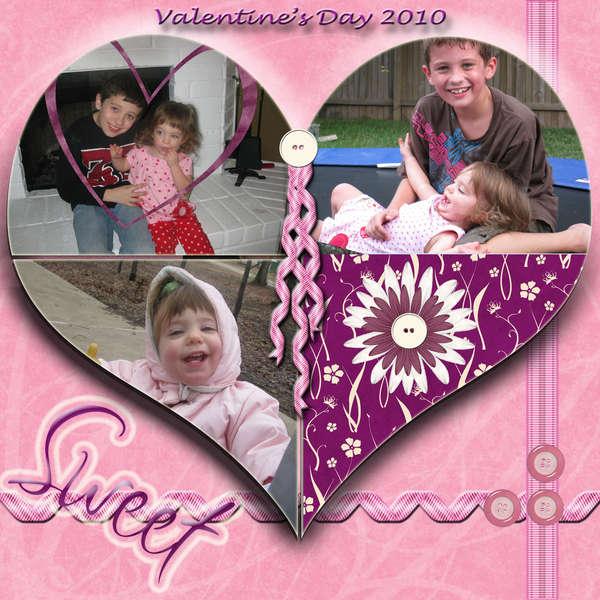 Digital Page - Valentine's Day 2010