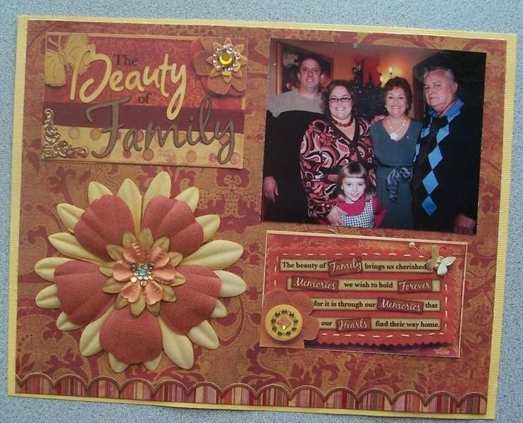 beauty of family