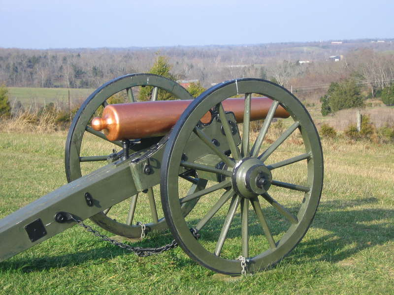 Cannon on Parson's Ridge