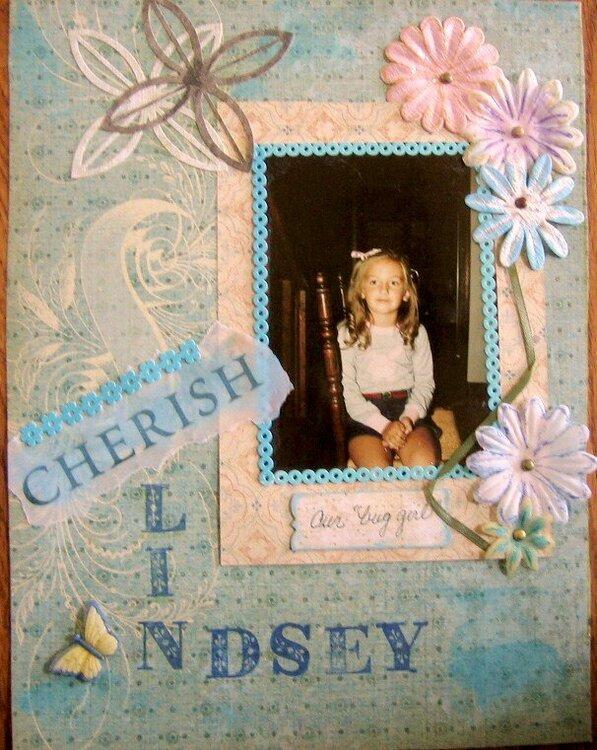 Lindsey; our bug girl.