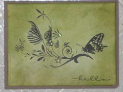 Green Butterfly giveaway