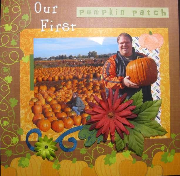 Our First Pumpkin Patch