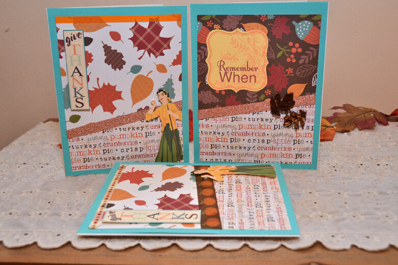 Thanksgiving Cards for Sisters & Mom