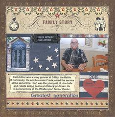 Carl Arthur-Family Story