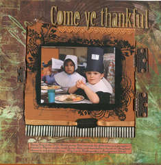 Come Ye Thankful
