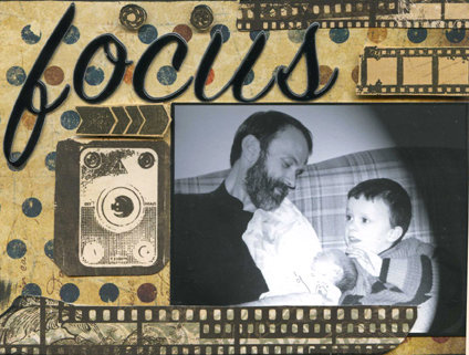 """""""Focus On You"""" Father's Day Card"""