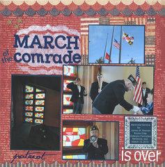 March of the Comrade is Over