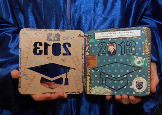 """Oh Snap"" Graduation Album p. 2 and 3"