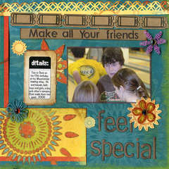Make All Your Friends Feel Special (To Dos)