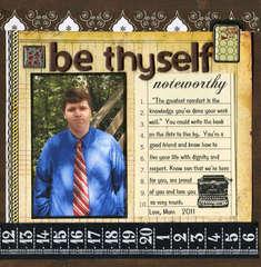 Be Thyself