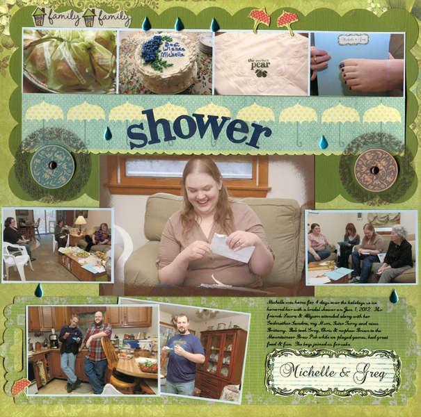 Shower for Michelle