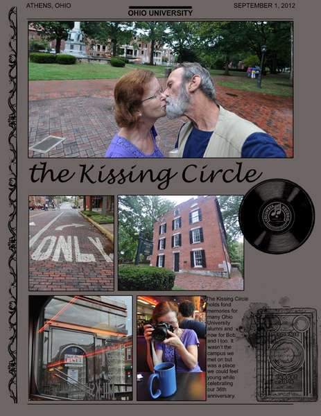 the Kissing Circle