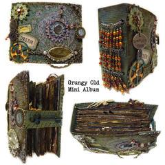 Grungy Old Mini Album
